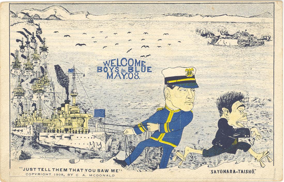 Arrival-Cartoon