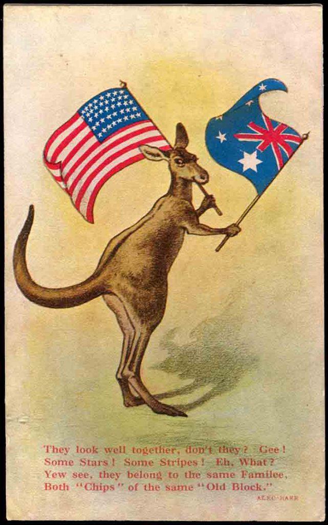 Australia-Kangaroom-Flags