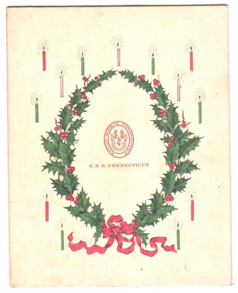 Connecticut Christmas 1909 P1 001