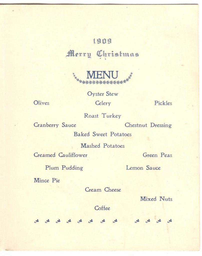 Connecticut Christmas 1909 P2 001