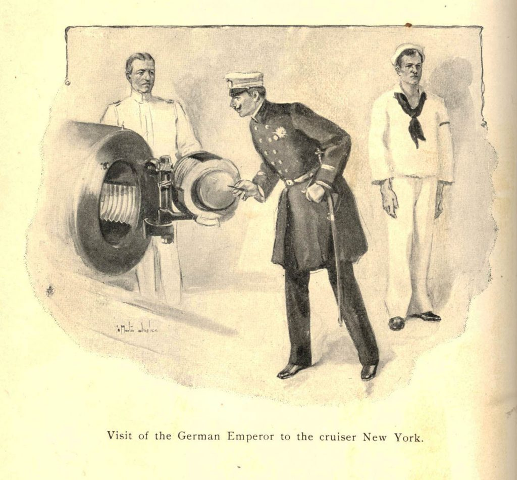 German Emperor on New York 001