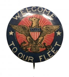 Welcome to Our Fleet - American Eagle Button