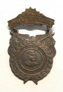 Souvenir - Rear Admiral Evans - Visit of U.S. .Naval Fleet 1908 - Australia