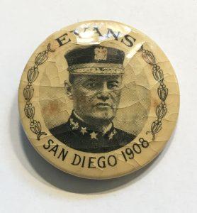 Button - Admiral Evans - San Diego 1908