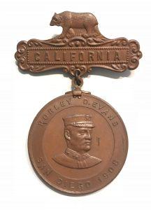 California - Robley D. Evans -  San Diego 1908