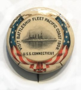 Visit Battleship Fleet Pacific Coast 1908 - USS Connecticut