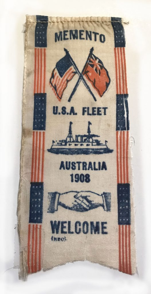 Memento U.S.A. Fleet - Australia 1908 - WELCOME