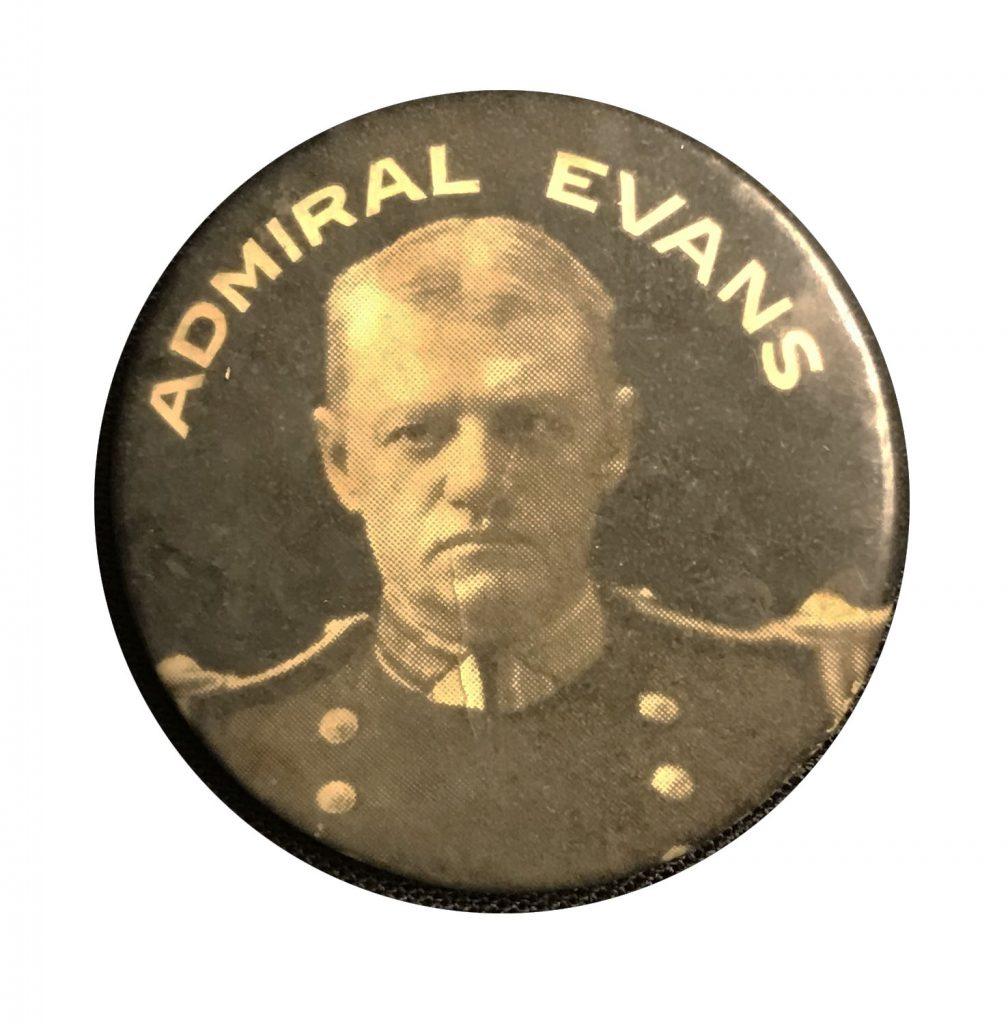 Admiral Evans Button