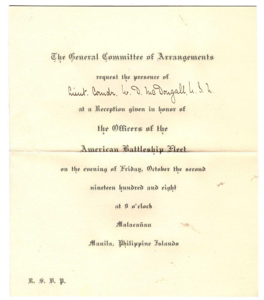 Manila Reception - Invitation 001