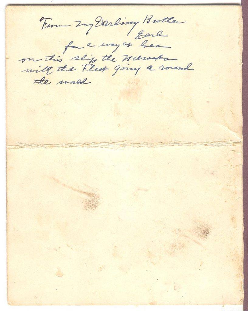 Nebraska Thanksgiving - Note 001