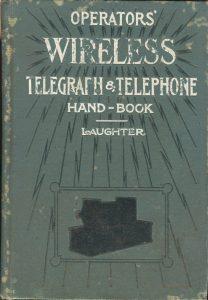Operators' Wireless Hand Book Cover 001