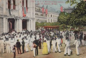 The YMCA Bureau of Information in Rio De Janeiro, Brazil