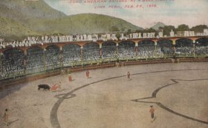 5000 American Sailors at Bull Fights in Lima Peru, February 24, 1908