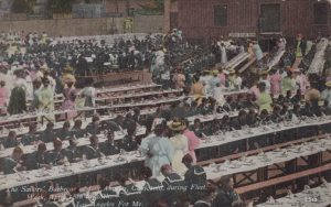 The Sailors Barbeque of Los Angeles, California, during Fleet Week April 16, 1908