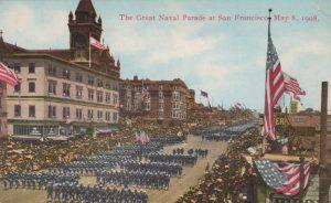 The Great Naval Parade at San Francisco May 8, 1908