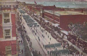 U.S. Marine Parade Bellingham, Wash.