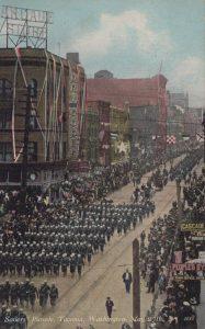 Sailors' Parade, Tacoma, Washington, May 27, 1908