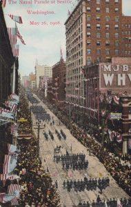 The Naval Parade at Seattle, May 26, 1908