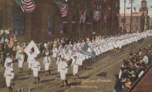Sailors Parade at Honolulu Hawaii