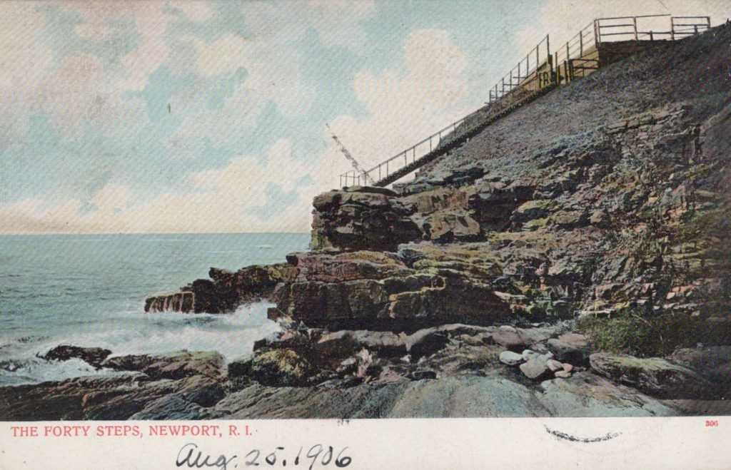 Newport, RI - The Forty Steps