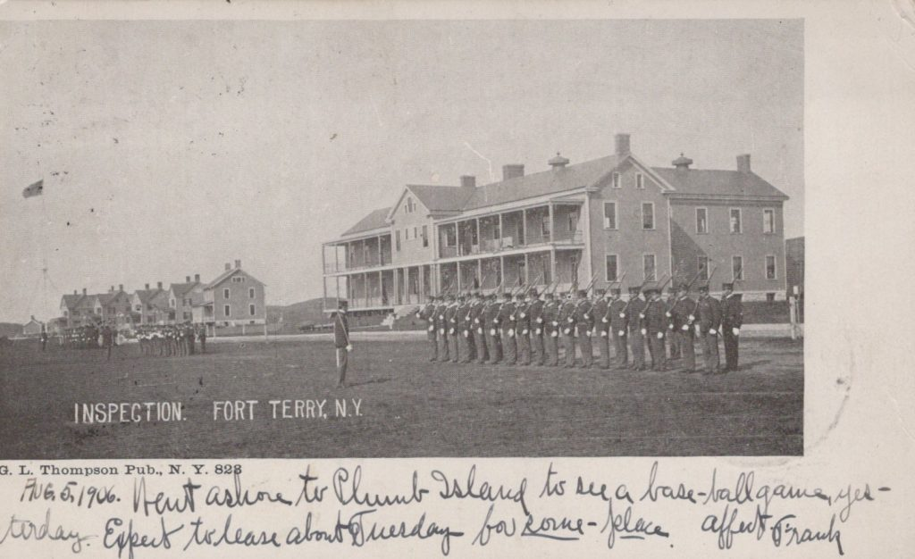 Fort Terry, NY - Inspection