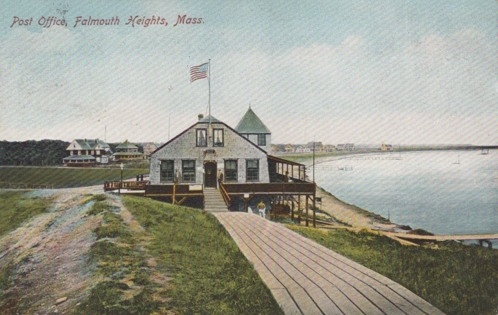 Falmouth Heights, Mass., - Post Office