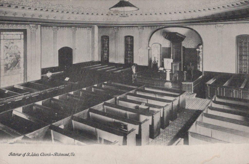 Richmond, VA - Interior St. John's Church
