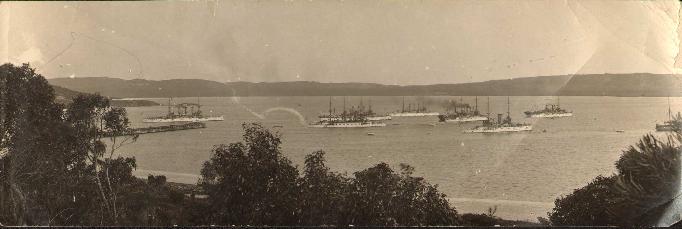 Panorama-Fleet-at-Albany