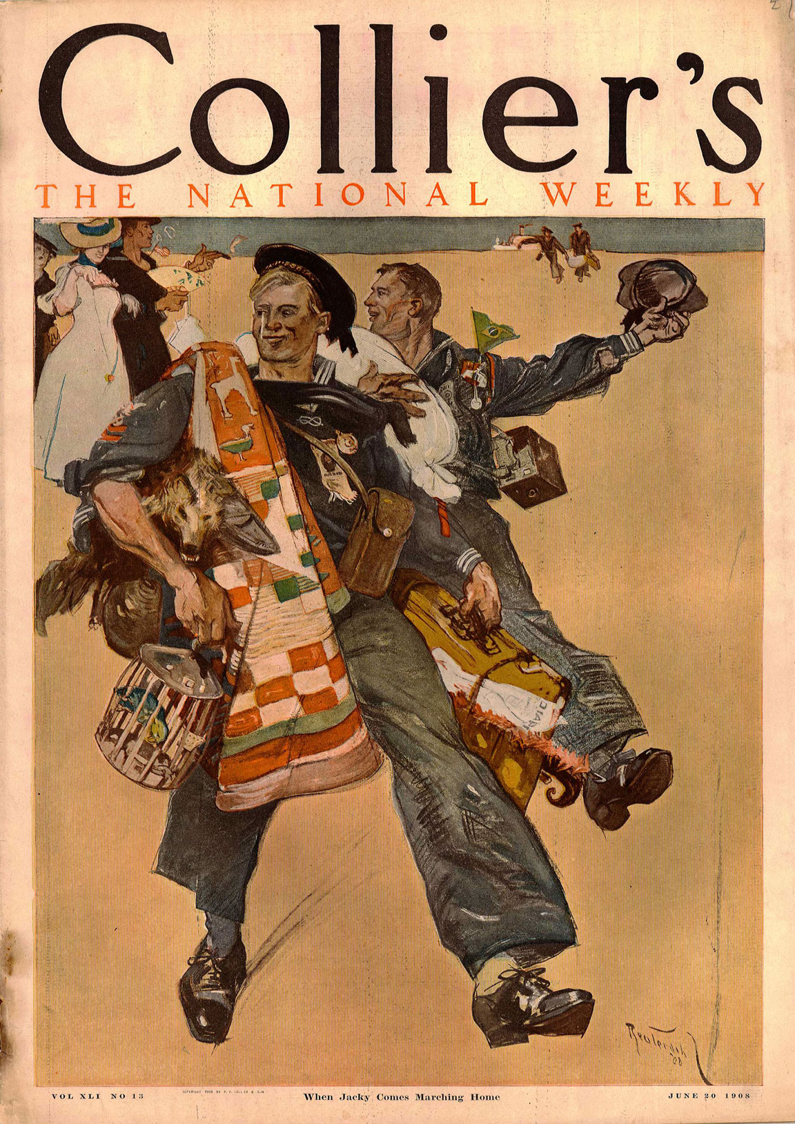 Reuterdahl_Colliers_Cover_June_20_1908