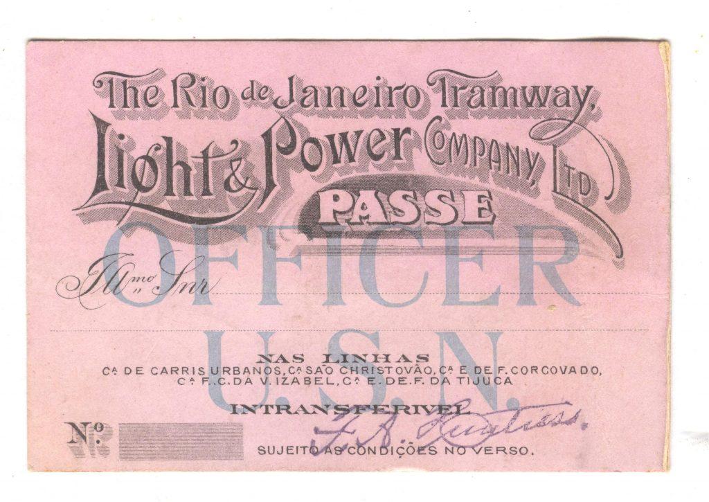 Rio do Janeiro Tramway - Passe 001