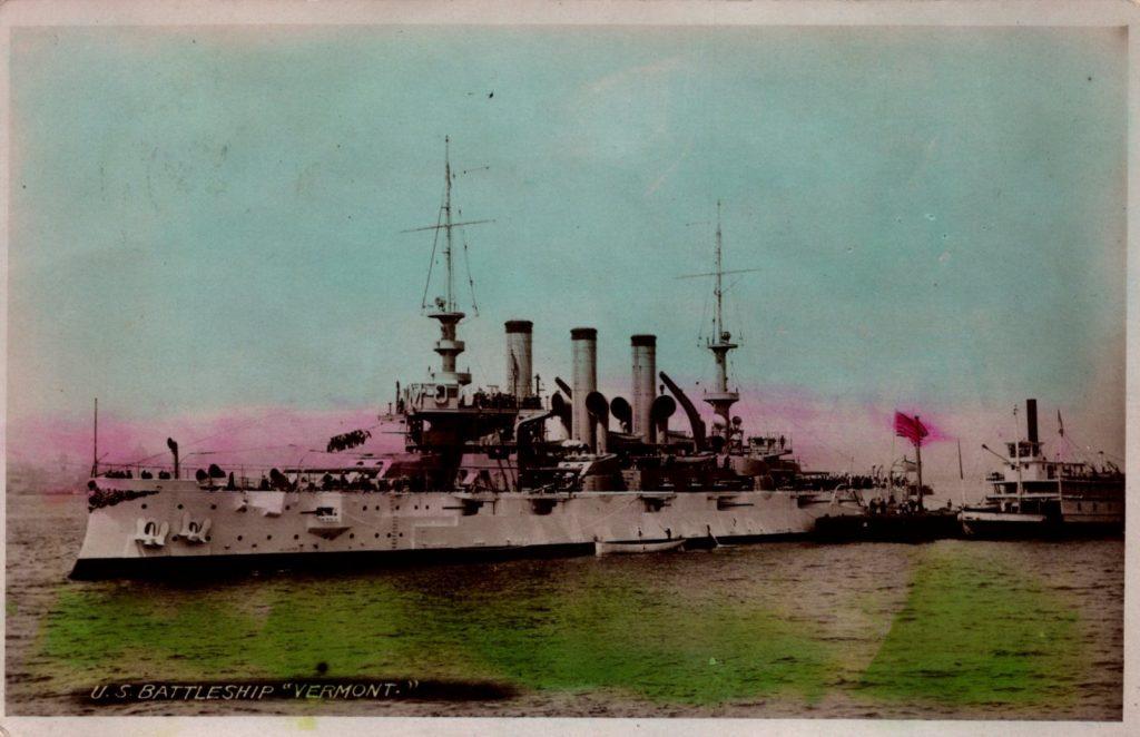 U.S. Battleship Vermont