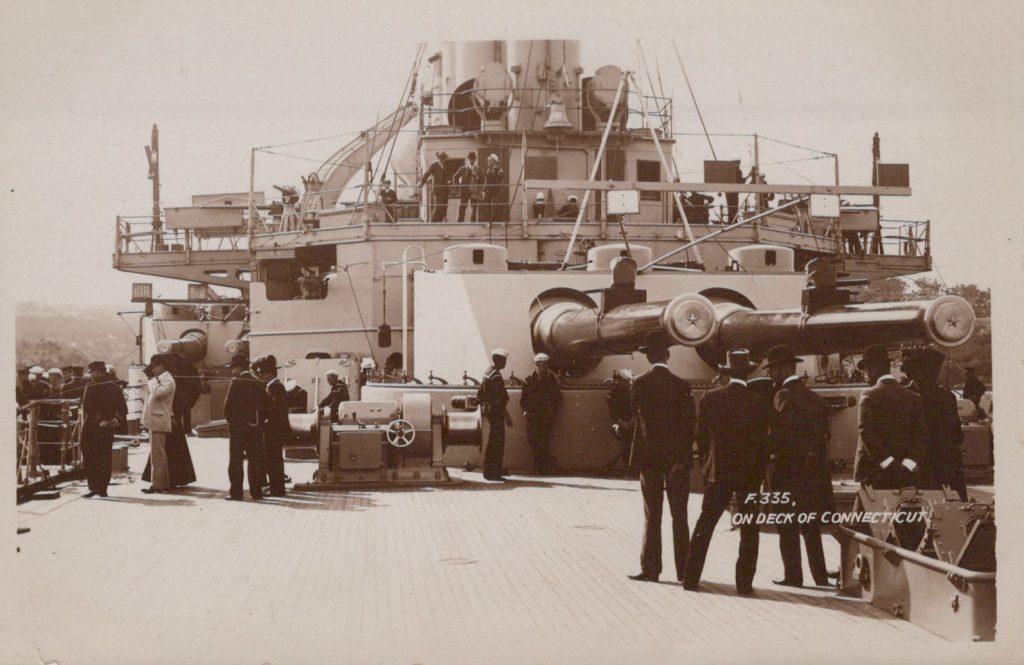 On Deck USS Connecticut