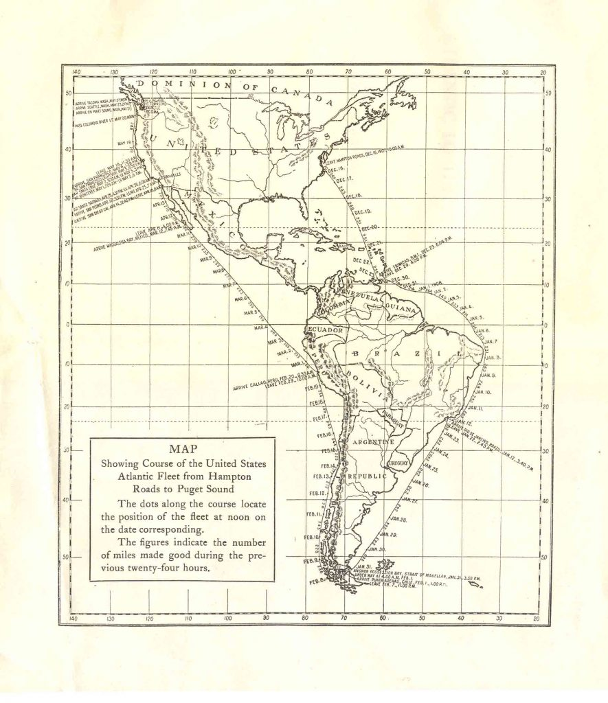With_the_American_Fleet_Map