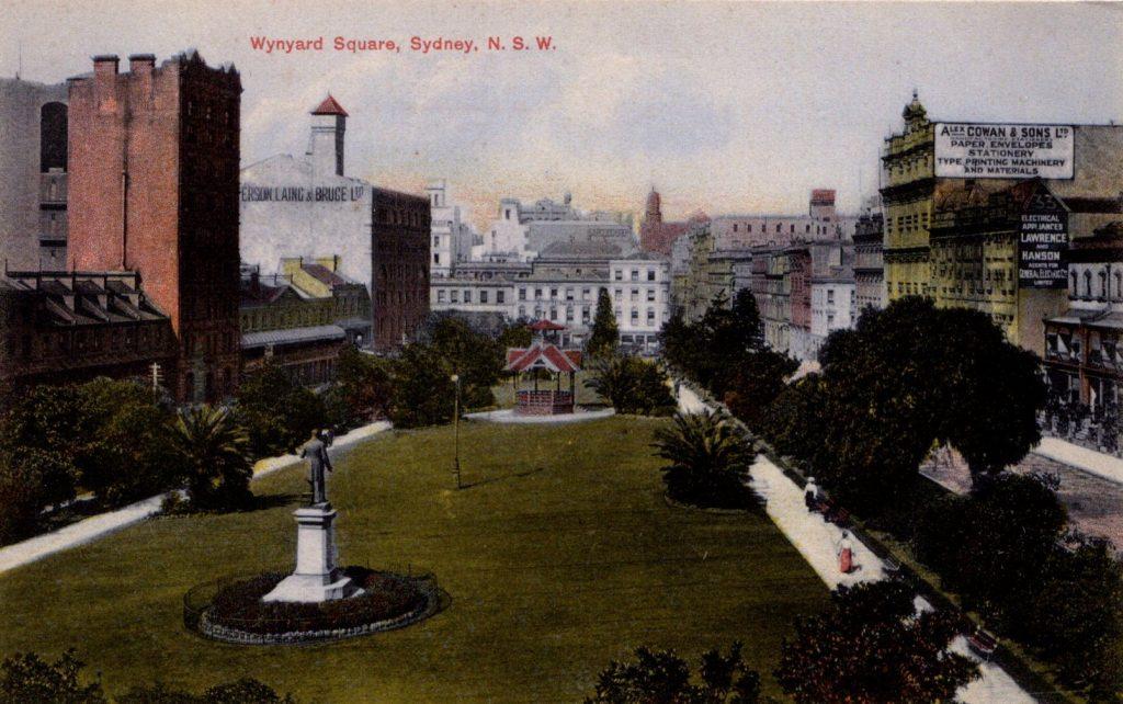 Wynyard Square Sydney