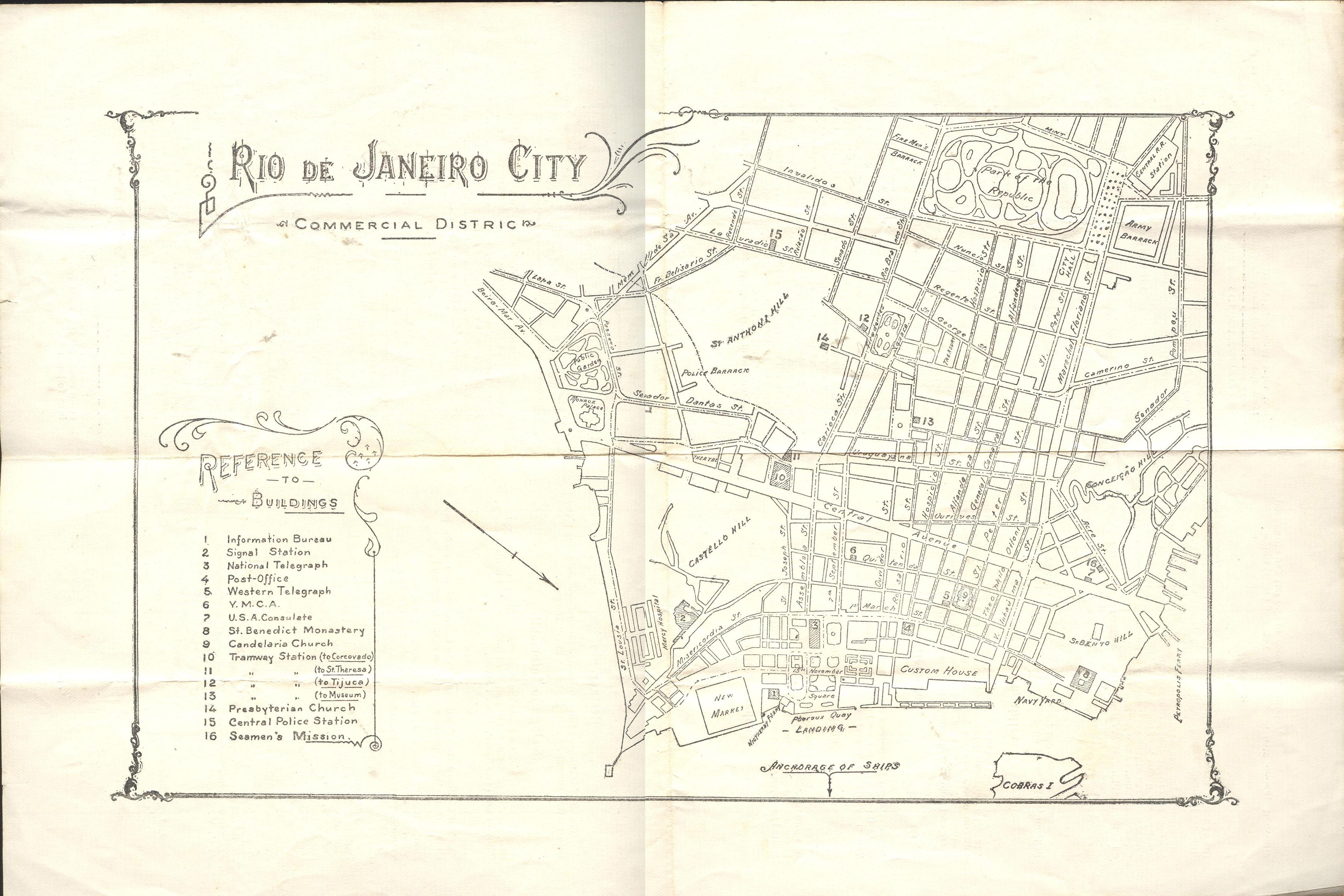 YMCA Rio Map