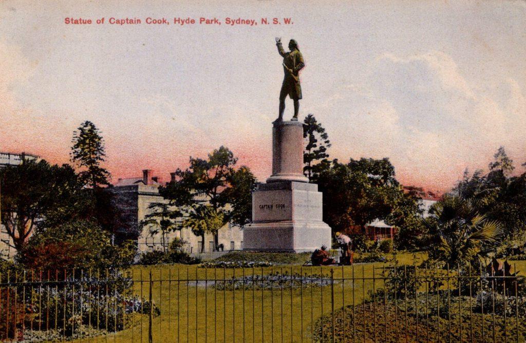 Capt Cook Hyde Park Sydney