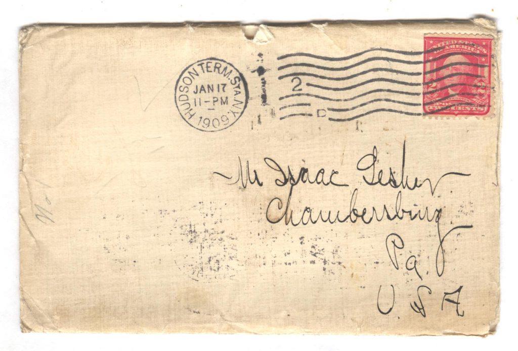Ceylon Letter Cover 001