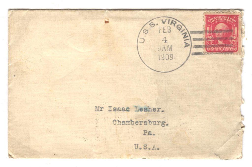 Frank Lesher - Gibraltar Letter 001