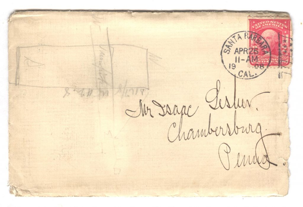 Frank Lesher Letter - Santa Barbara 001