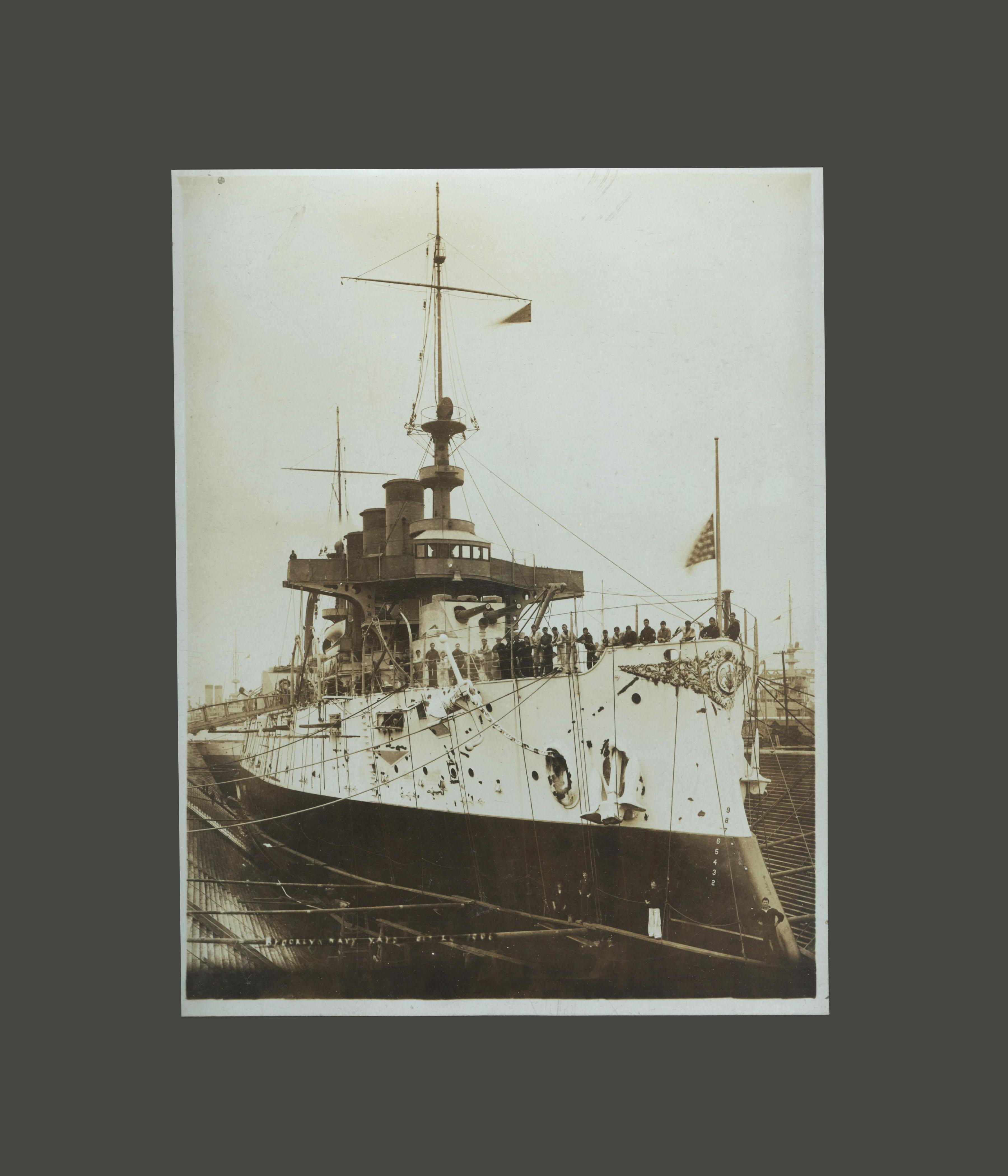 Frank Lesher - USS Virginia Brooklyn Navy Yard 001