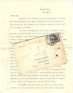 Frank Lesher - Valparaiso Letter 001