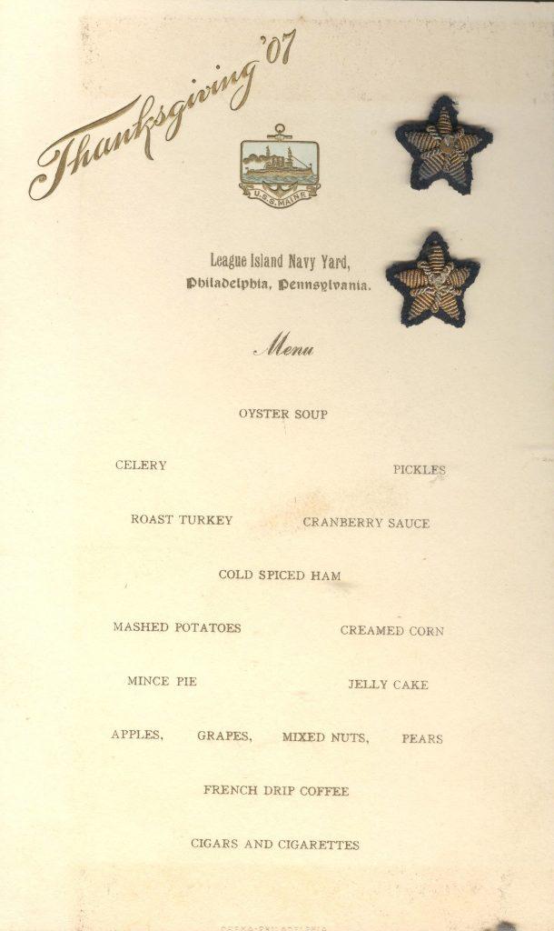 Maine Thanksgiving 1907 001