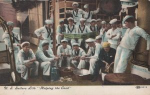 Illustrated Postal Card Company Sailors