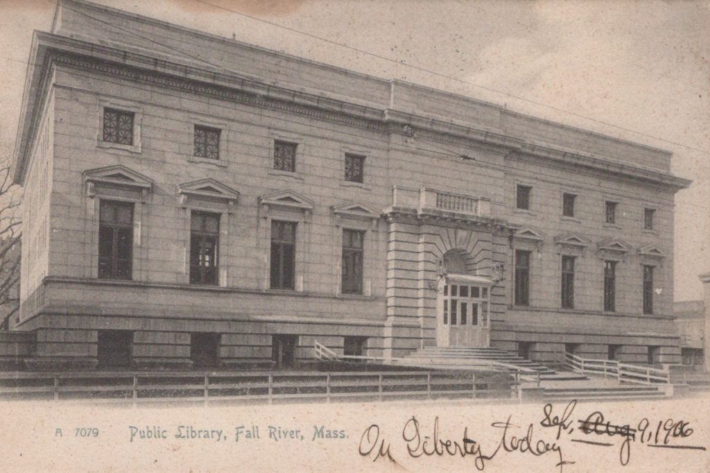 Fall River, Mass. - Public Library