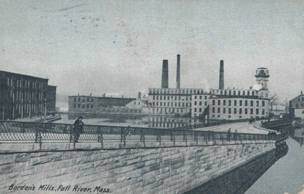 Fall River, Mass. - Borden's Mills