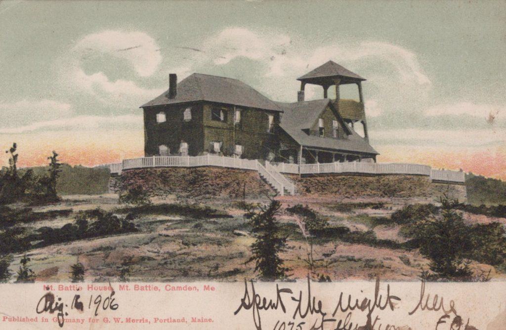 Camden, ME - Mt. Battie House