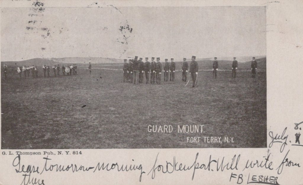 Fort Terry, NY - Guard Mount