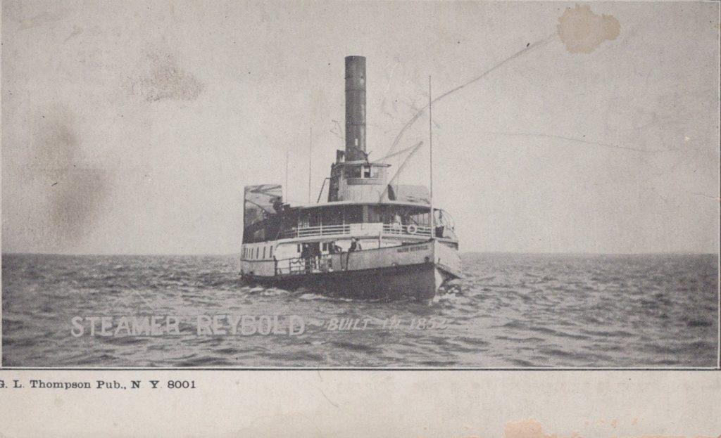Steamer Reybold - Build in 1852