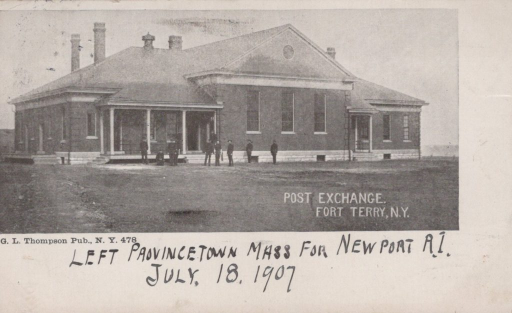 Fort Terry, NY - Post Exchange