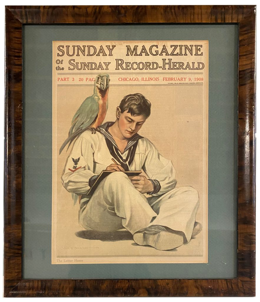 Sunday Record-Hearld - The Letter Home